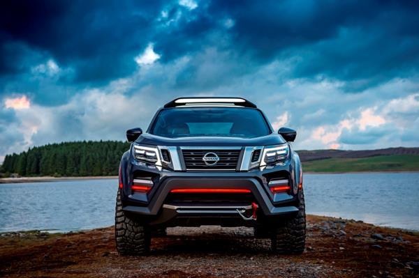 Nissan Navara Dark Sky Concept ที่เปิดตัวในประเทศเยอรมนีที่ผ่านมา