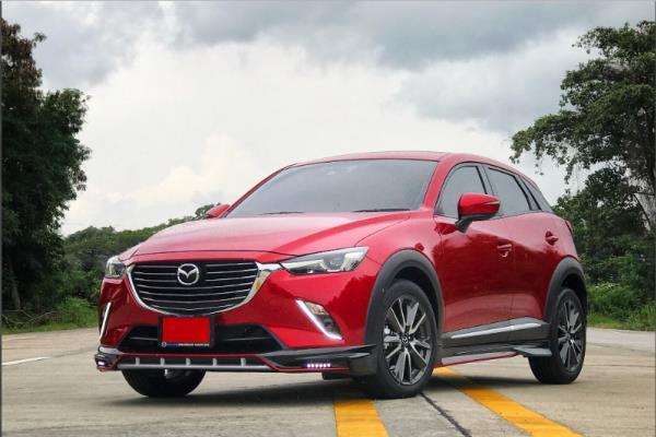 รีวิวการออกแบบ Mazda CX-3 2018