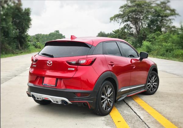 เส้นสายการออกแบบรอบคันของ Mazda CX-3 2018