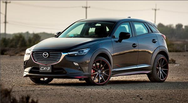 รถยนต์ Mazda CX-3 2018