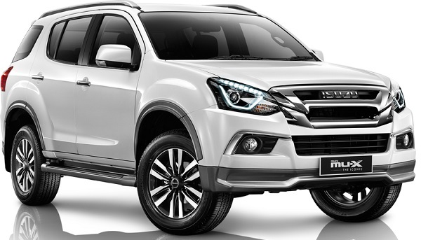 รถยนต์ ISUZU MU-X THE ICONIC