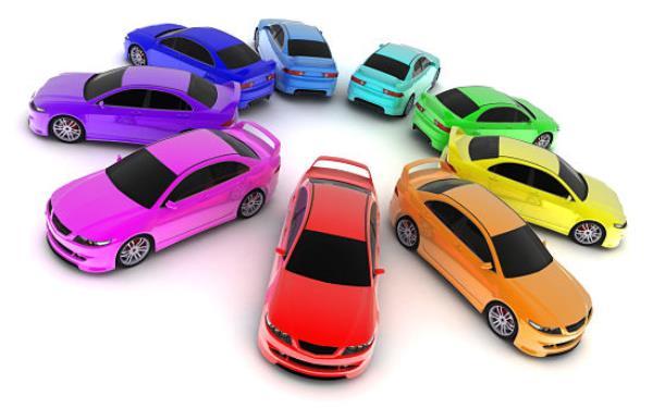 การเลือกสีรถให้ถูกโฉลกกับตนเอง