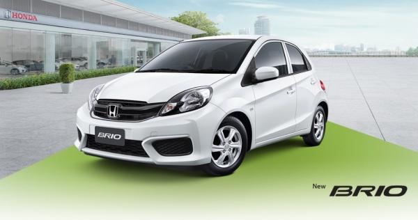 รถยนต์ Ecocar Honda Brio