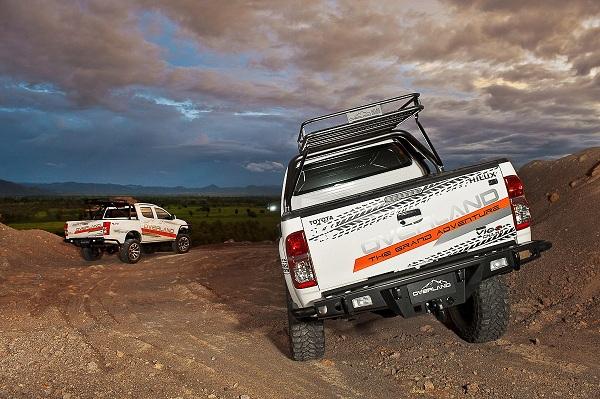 หน้าก็เท่ ท้ายก็เฉียบ ได้เปรียบเห็นๆกับ Toyota Hilux Vigo ในแบบลุยๆ