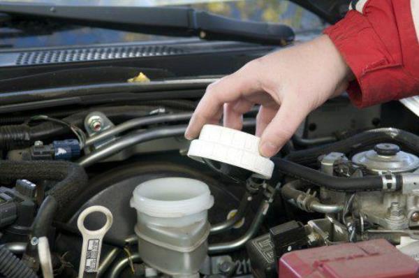 การตรวจสอบส่วนต่างๆของฝากระโปรงหน้ารถยนต์