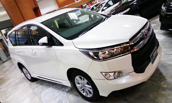 Toyota Innova Crysta MPV สายพันธุ์สปอร์ต
