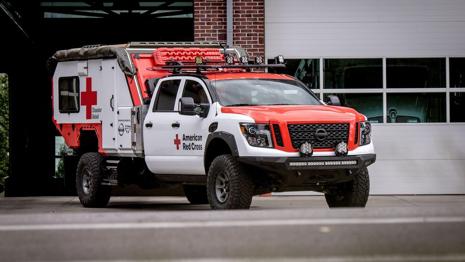 Titan Red Cross truck