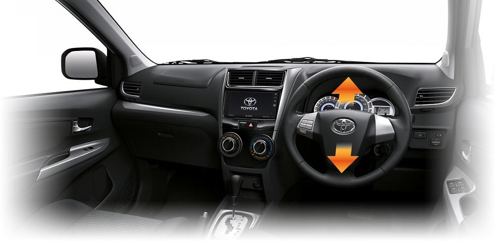 พวงมาลัยไฟฟ้า ที่สามารถปรับระดับสูง-ต่ำ ได้ตามความต้องการของผู้ขับขี่