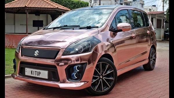 สีสัน ความเฉียบขาดและความกลมกล่้อมในการตกแต่ง Suzuki Ertiga 2018