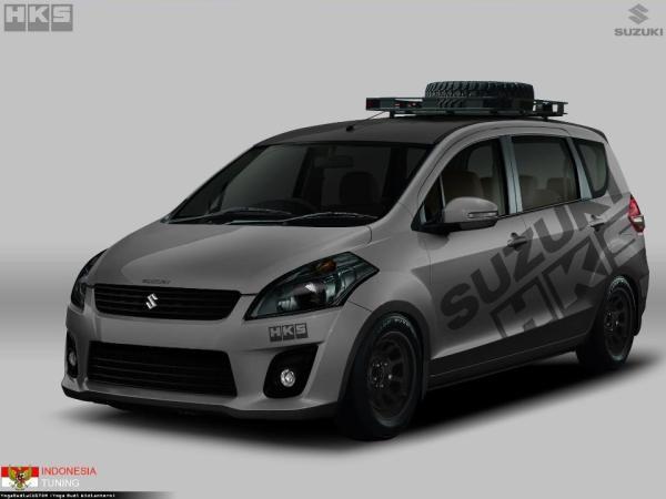 พร้อมลุยกับ  กับ Suzuki Ertiga 2018 กับความลงตัวในการตกแต่งหลากหลายสไตล์