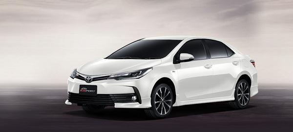 มาตรฐานและความมั่นใจเชื่อถือได้กับ Toyota Corolla Altis 2018
