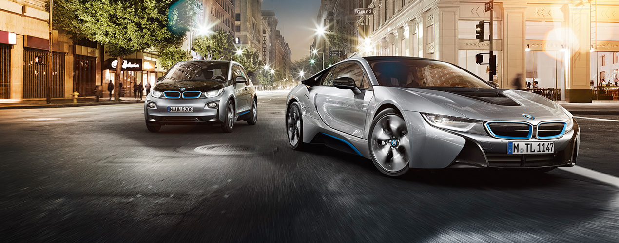 BMW i8 รถยนต์ไฮบริด