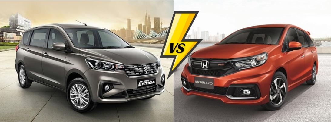 เปรียบเทียบ Suzuki Ertiga 2018 VS Honda Mobilio 2018
