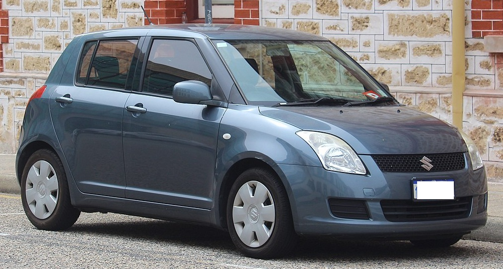 Suzuki Swift โฉมเจเนอเรชั่นที่ 2