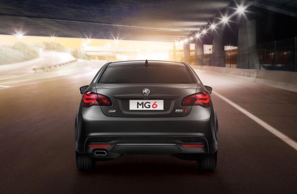 ดีไซน์ด้านหลังของ MG6