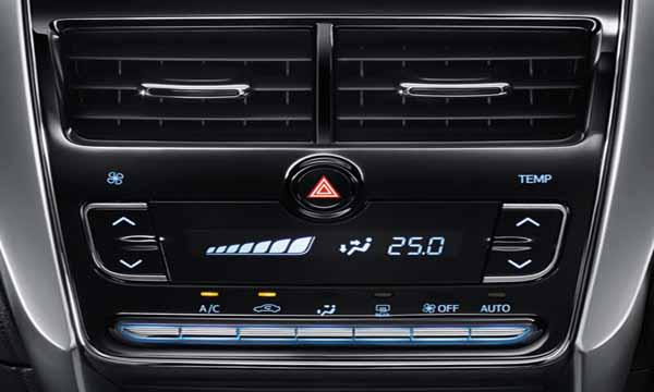 ระบบปรับอากาศแบบอัตโนมัติพร้อมหน้าจอ LCD