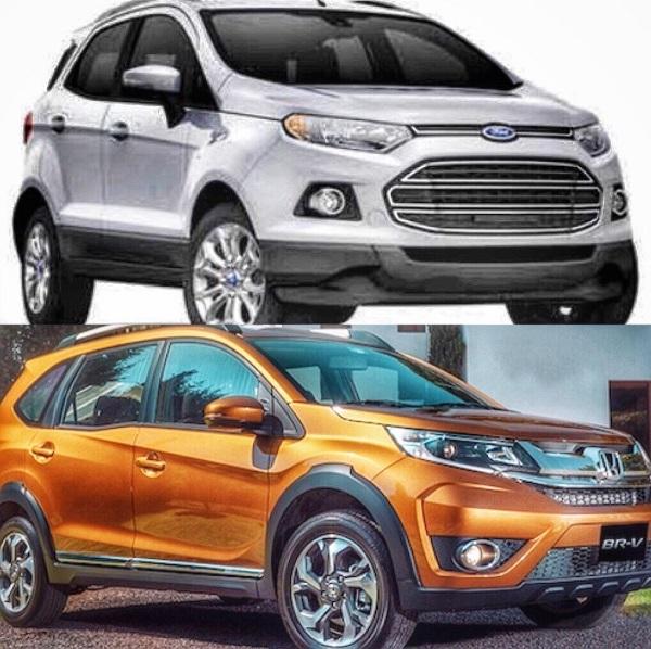เทียบกันแบบสะใจ กับ ระหว่าง Ford Ecosport 2018-2019 กับคู่แข่ง Honda BR-V 2018-2019 อันไหนดีอันไหนโดนมาดูกัน!!