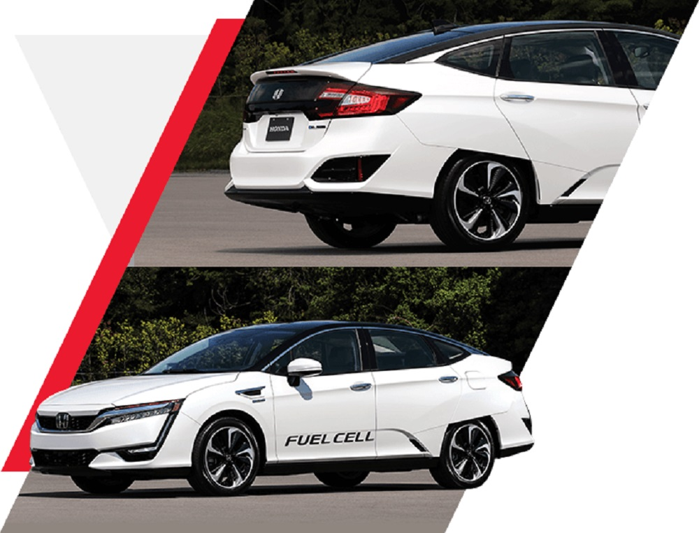 HONDA CLARITY FUELCELL รถยนต์เซลเชื้อเพลิง ที่สุดแห่งเทคโนโลยียานยนต์ที่ไม่มีค่าไอเสีย และ CLARITY FUELCELL นับเป็นผู้นำเทคโนโลยีอันล้ำสมัยเพื่อสิ่งแวดล้อมแห่งอนาคต