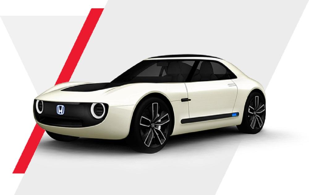 HONDA SPORT EV CONCEPT รถยนต์ต้นแบบรุ่นนี้ใช้แพลตฟอร์มเดียวกับ ฮอนด้า เออร์เบิน อีวี คอนเซ็ปต์ (Honda Urban EV Concept) ด้วยดีไซน์โครงสร้างตัวถังอันเป็นเอกลักษณ์