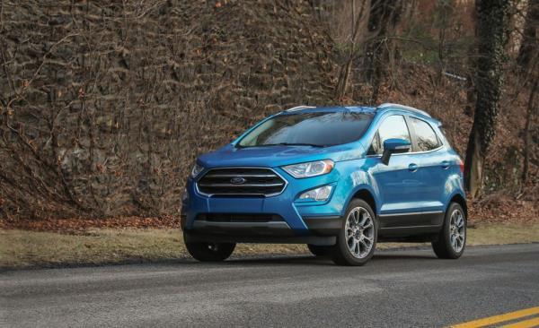 รถยนต์ Compact SUV Ford EcoSport