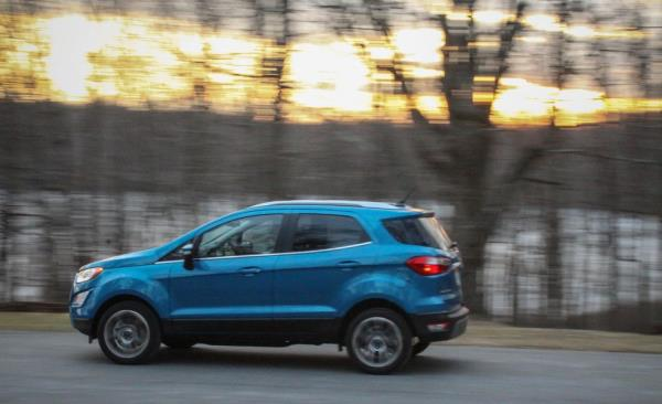 สมรรถนะและการใช้งาน Ford EcoSport