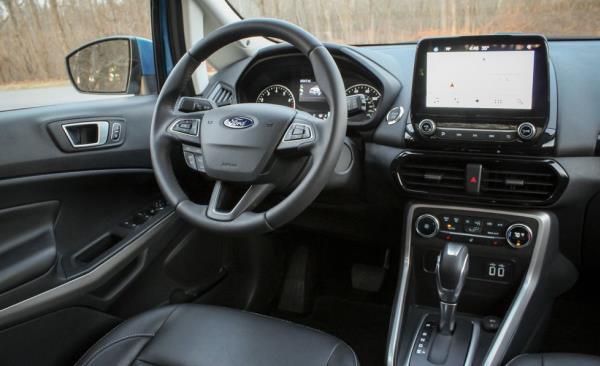 ดีไซน์ภายในของ Ford EcoSport 2018-2019