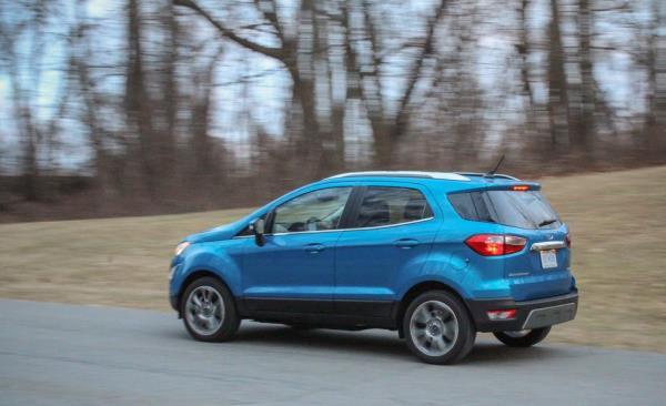 ภาพรวมการใช้งาน Ford EcoSport
