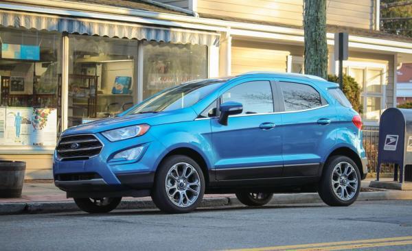 การออกแบบและดีไซน์ภายนอกของ Ford EcoSport 2018-2019