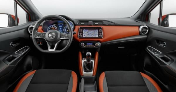 ดีไซน์ภายในของ Nissan Juke 2018-2019