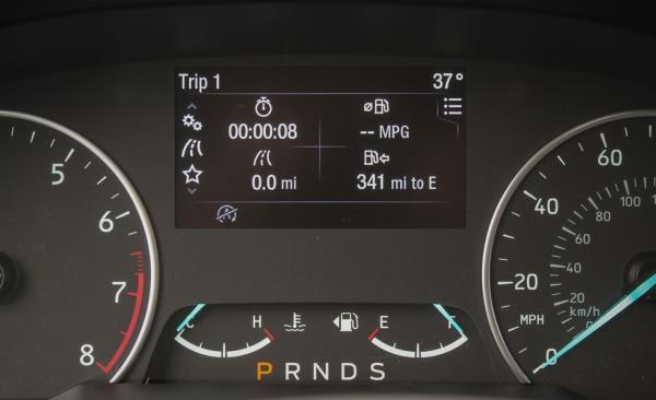 หน้าปัดแสดงสถานะต่างๆภายในรถ