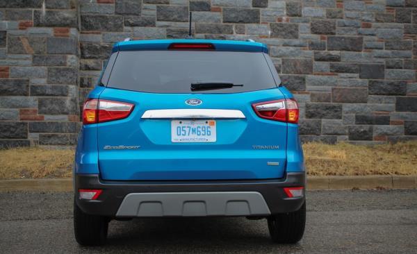 การออกแบบสไตล์ SUV ของ Ford EcoSport 2018-2019
