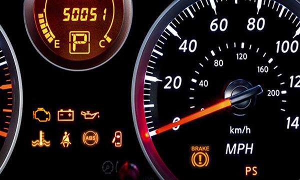 ไฟแสดงสัญลักษณ์การทำงานของระบบต่างๆภายในรถ