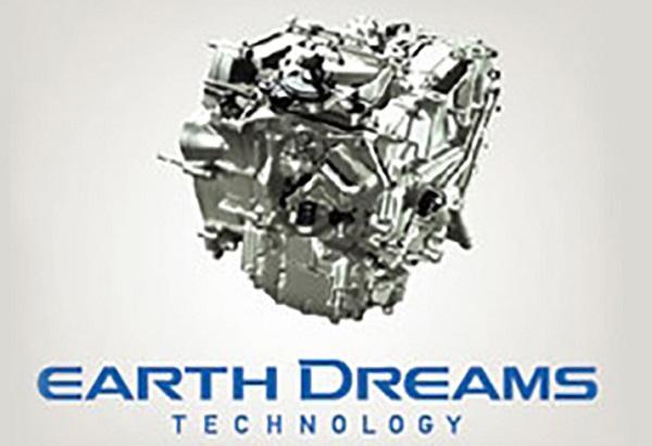 ระบบเกียร์อัตโนมัติแบบ CVT ใหม่ พัฒนาภายใต้ Earth Dreams Technology ให้การประหยัดน้ำมันมากยิ่งขึ้น