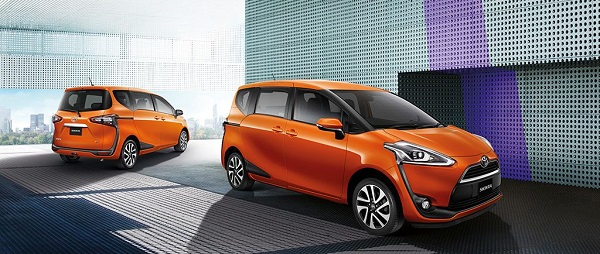 TOYOTA SIENT A 2018-2019