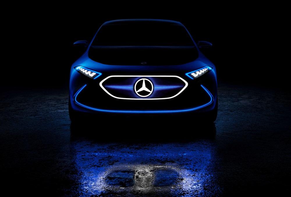 Mercedes-Benz Concept EQA ใหม่ ต้นแบบรถยนต์ไฟฟ้ารุ่นเล็กเผยโฉมที่งาน Motor Expo 2018