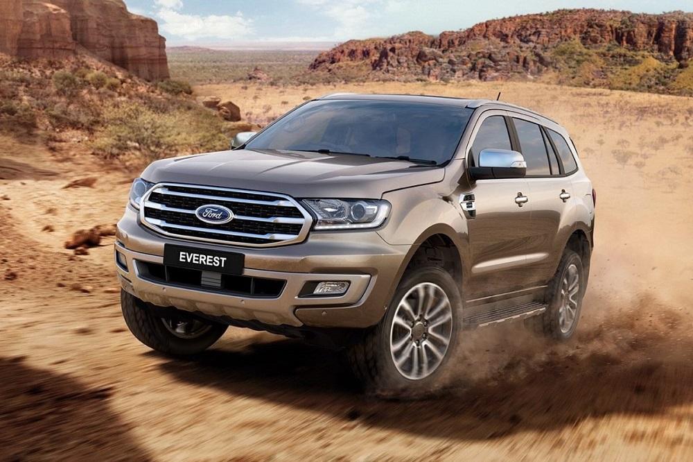 Ford Everest Trend 2.0 Turbo 2019 เป็นรุ่นย่อยใหม่ที่เพิ่งเริ่มจำหน่ายพร้อมๆ กับการเปิดตัวโฉมไมเนอร์เชนจ์