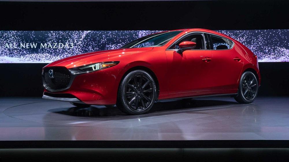 Mazda 3 2019 ใหม่ ที่มาทั้งแบบซีดาน 4 ประตู และ Hatchback 5 ประตู
