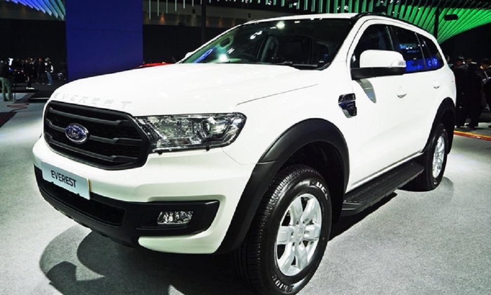 Ford Everest Trend 2.0 Turbo 2019 รุ่นเริ่มต้นใหม่ในงานมอเตอร์เอ็กซ์โป เคาะราคาจำหน่าย 1,299,000 บาท