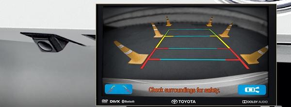 กล้องมองหลัง พร้อมฟังก์ชั่นการมองเห็นปรับเปลี่ยนได้ 3 รูปแบบ