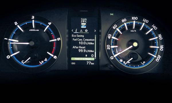 มาตรวัดเรืองแสง Optitron พร้อมจอแสดงข้อมูลการขับขี่ MID เก๋ไก๋ในทุกมุมมองการขับขี่