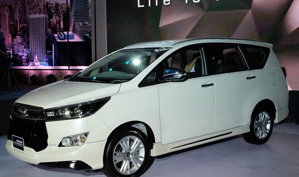 อืดหรือไม่ชินในการขับขี่สำหรับ Toyota Innova
