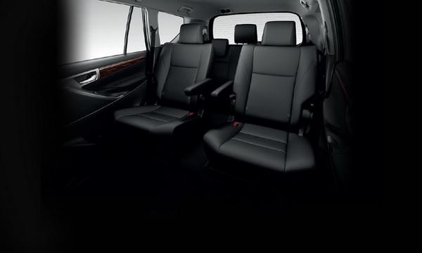 นั่งสบายบรรทุกจุใจใน Toyota Innova