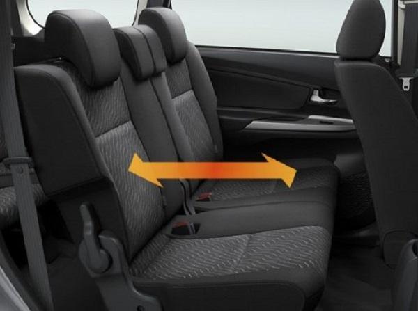 ลงตัวในทุกการโดยสารกับช่องวางขาที่กว้างกว่าให้ความสบายใน Toyota Avanza 2018-2019