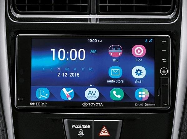 ฟังก์ชั่นที่ทันสมัยและง่ายต่อการใช้งานใน  Toyota Avanza 2018-2019