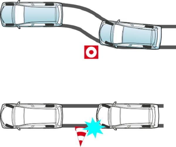 ระบบป้องกันล้อล็อกขณะเบรกกะทันหัน ช่วยให้สามารถควบคุมรถได้เป็นอย่างดี