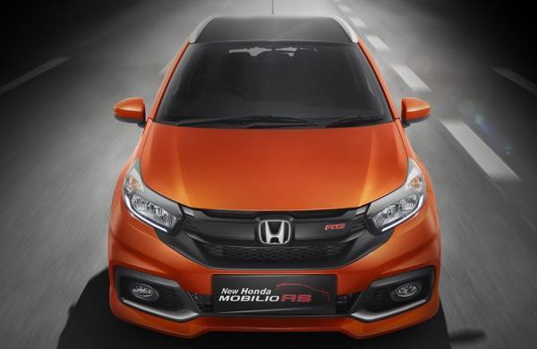 ดีไซน์ภายนอกของ Honda Mobilio รุ่น RS