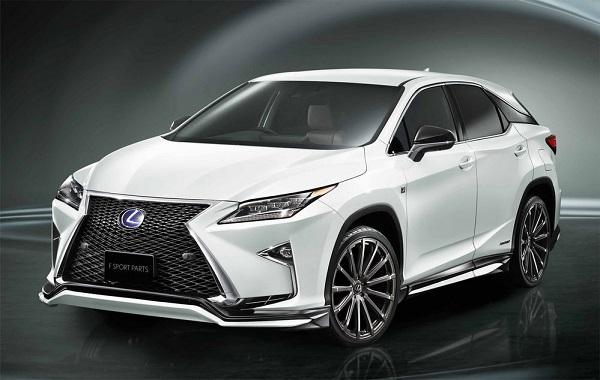 ความมีเอกลักษณ์แต่เพิ่มความสปอร์ตลงตัวให้ทั้งเท่ทั้งหรูหราสำหรับ Lexus RX 2018-2019