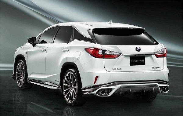 ชุดแต่ง TRD รอบคัน สำหรับ Lexus RX 2018-2019 ที่เพิ่มความสง่างามให้รถ