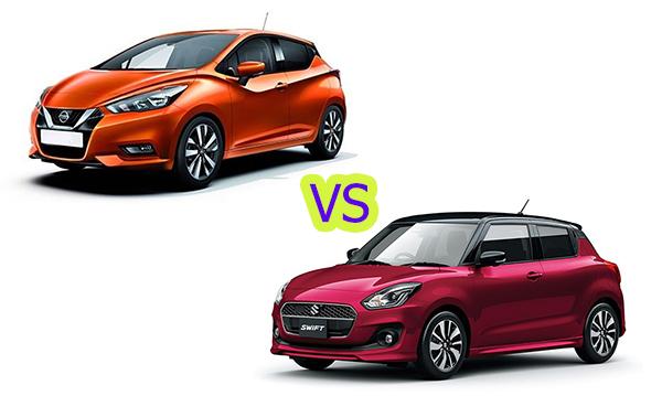 เปรียบเทียบ Nissan March 2019 กับ Suzuki Swift 2019 คันไหนจะครองใจวัยมันส์มากกว่ากัน