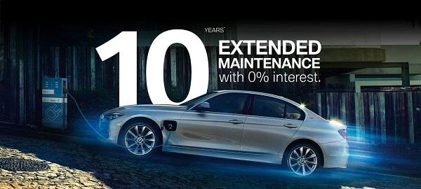 BMW จัดโปรโมชั่นพิเศษขยายเวลาการบำรุงรักษานาน 10 ปี พร้อมข้อเสนอพิเศษอื่นๆ อีกมากมาย